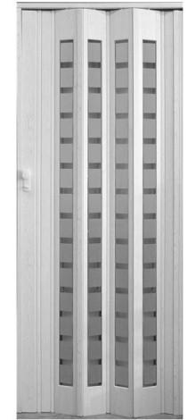 Shrnovací dveře Platinum prosklené